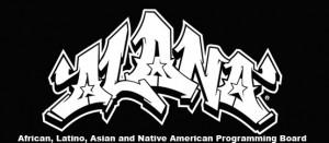 Logo of the African, Latino, Asian, and Native American (ALANA) Intercultural Programming Board